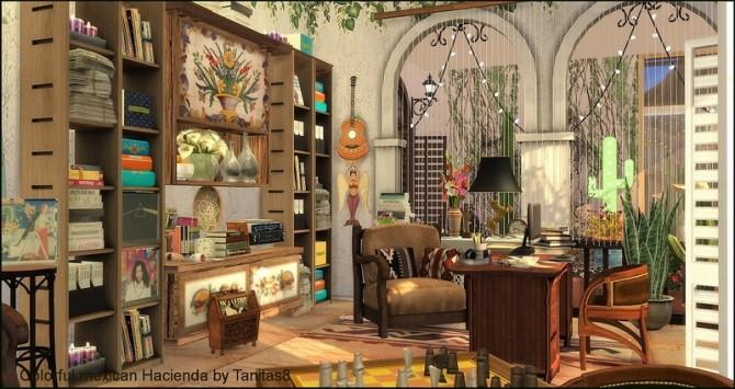Colorful mexican Hacienda at Tanitas8 Sims image 5118 670x355 Sims 4 Updates