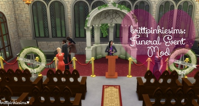 Funeral Event Mod at Brittpinkiesims image 512 670x358 Sims 4 Updates