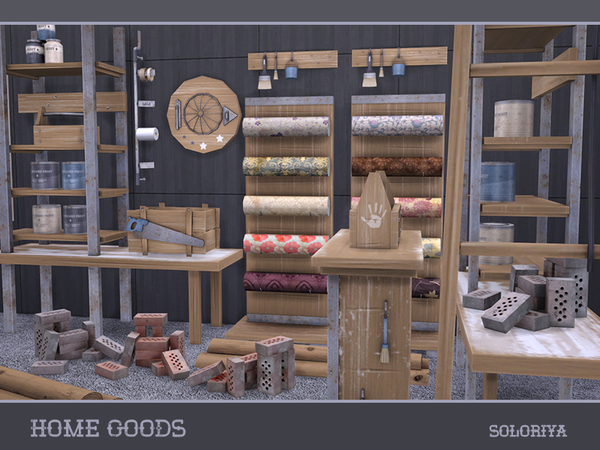 Home goods by soloriya at tsr sims 4 updates Home goods decor pinterest