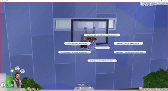 Sims 4 Longer Basketball Games by LittleMsSam