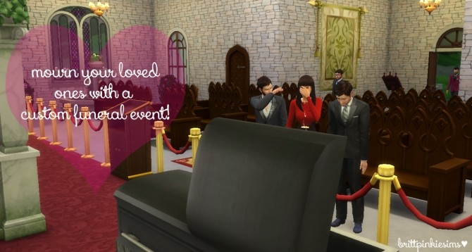 Funeral Event Mod at Brittpinkiesims image 514 670x358 Sims 4 Updates