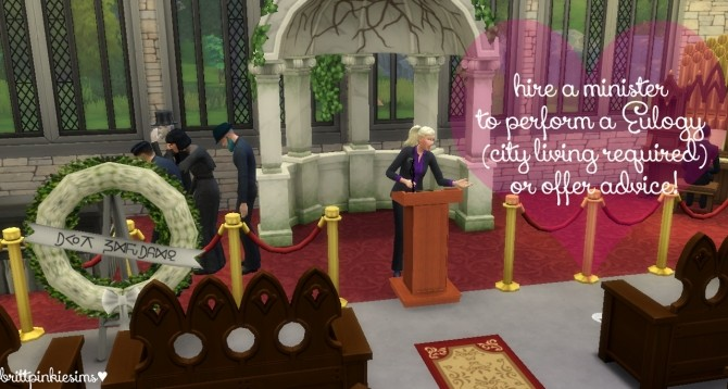 Funeral Event Mod at Brittpinkiesims image 516 670x358 Sims 4 Updates