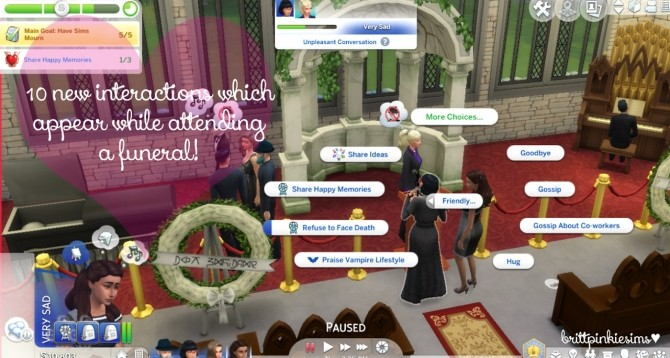 Funeral Event Mod at Brittpinkiesims image 517 670x358 Sims 4 Updates