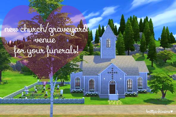 Funeral Event Mod at Brittpinkiesims image 519 Sims 4 Updates