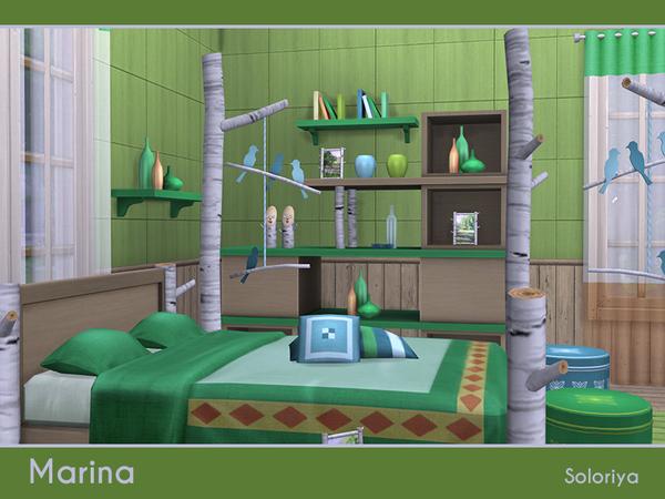 Marina bedroom set by soloriya at TSR image 5213 Sims 4 Updates