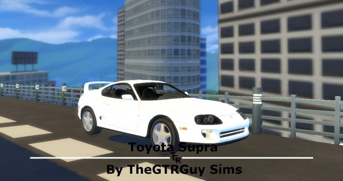 Toyota Supra at TheGTRGuySims image 5216 670x353 Sims 4 Updates