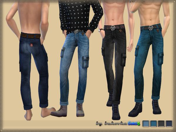 Sims 4 Jeans & Pockets by bukovka at TSR