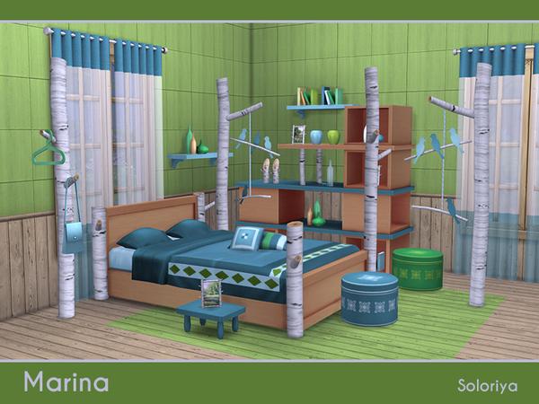 Marina bedroom set by soloriya at TSR image 5313 Sims 4 Updates