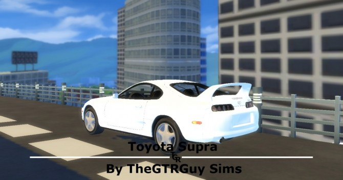 Toyota Supra at TheGTRGuySims image 5316 670x353 Sims 4 Updates