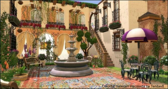 Colorful mexican Hacienda at Tanitas8 Sims image 5318 670x355 Sims 4 Updates