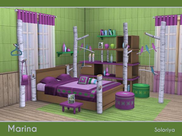 Marina bedroom set by soloriya at TSR image 5413 Sims 4 Updates