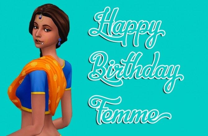 Femme's Birthday Set at The Plumbob Tea Society image 543 670x437 Sims 4 Updates