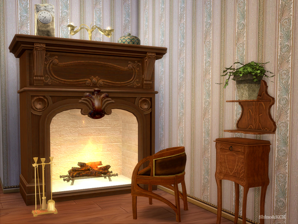 Sims 4 Art Nouveau Sample by ShinoKCR at TSR