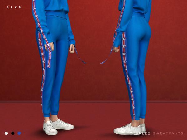 Sims 4 Charlee Hoodie & Sweatpants by SLYD at TSR