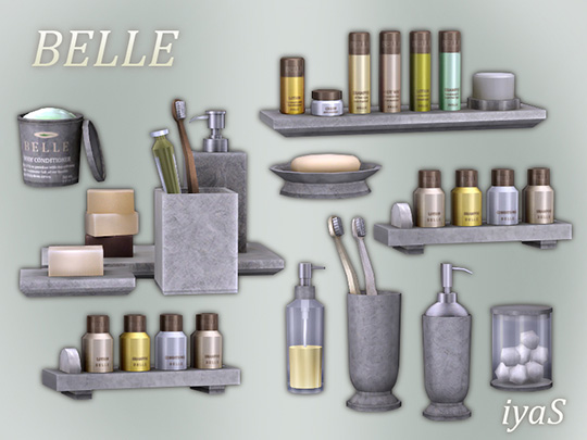 Belle bathroom clutter at Soloriya image 5523 Sims 4 Updates