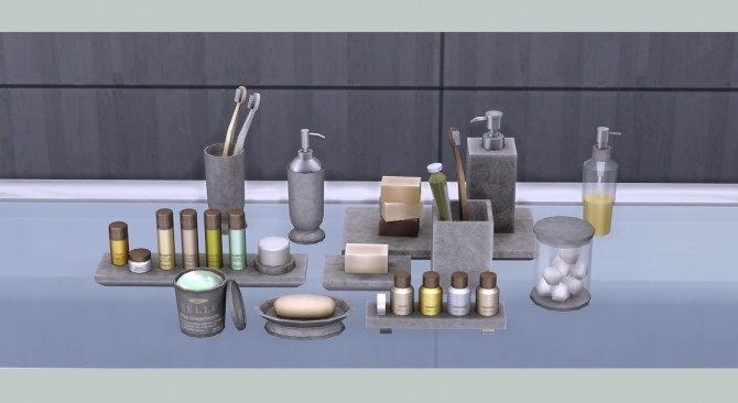 Belle bathroom clutter at Soloriya image 5623 670x366 Sims 4 Updates