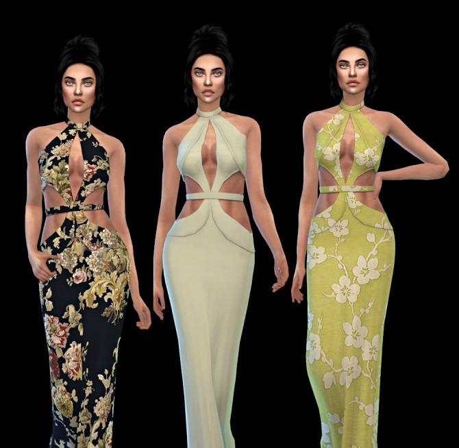 Sims 4 Karlie Dress at Leo Sims