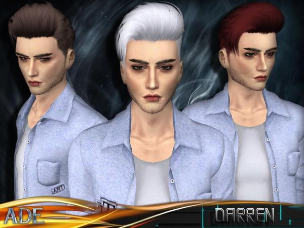 Darren hair M by Ade Darma at TSR image 5818 Sims 4 Updates