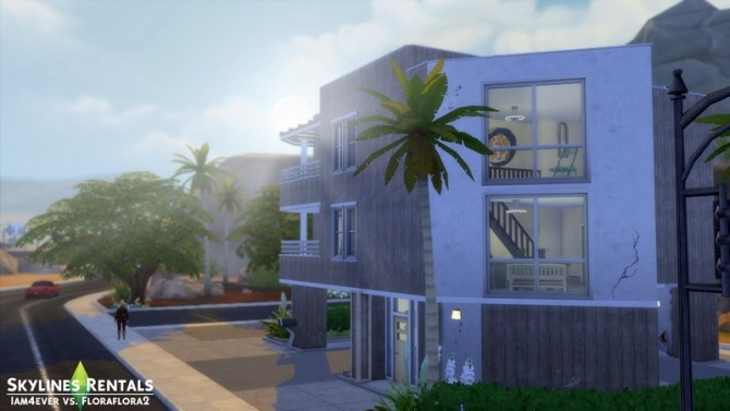 Sims 4 Skylines Rentals (CC Free) Sims 3 to 4 Recreation by Iam4ever at Mod The Sims
