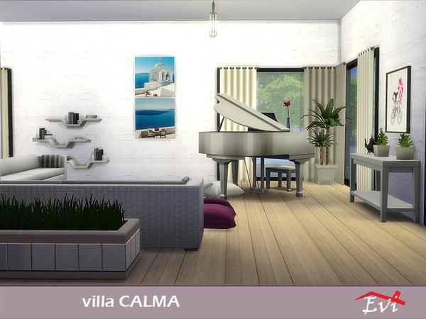 Sims 4 Villa Calma by evi at TSR