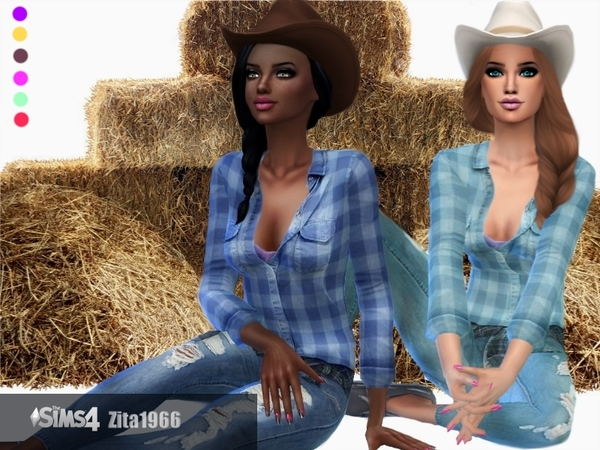 Country Girls by ZitaRossouw at TSR image 6020 Sims 4 Updates