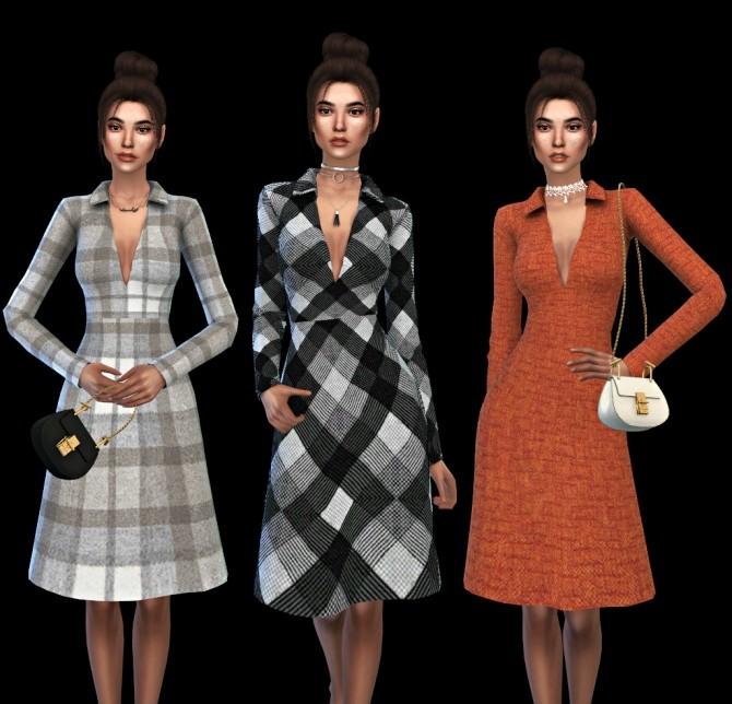 Sims 4 Mica Coat at Leo Sims