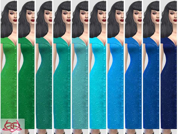 Paloma dress v. Tubo by Colores Urbanos at TSR image 607 Sims 4 Updates