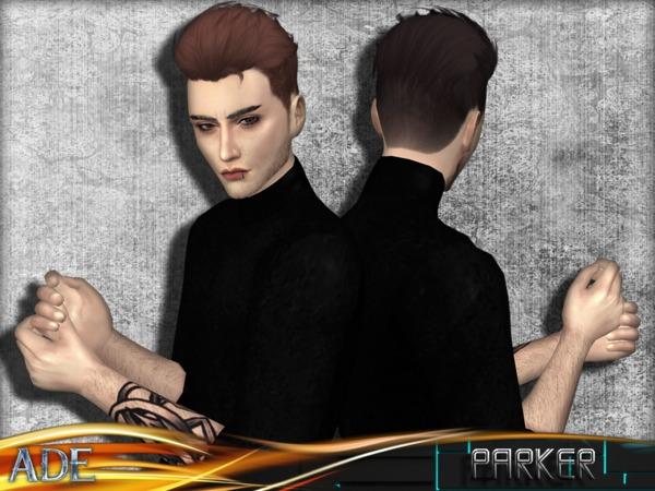 Sims 4 Parker hair by Ade Darma at TSR