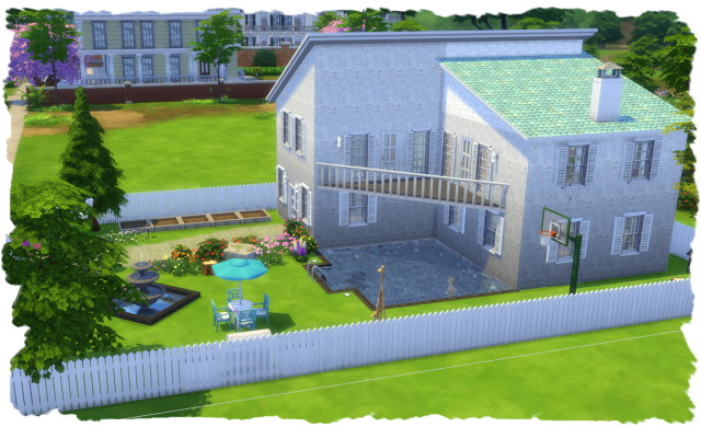 Sims 4 Maryland family house by Chalipo at All 4 Sims