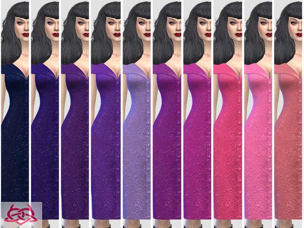 Paloma dress v. Tubo by Colores Urbanos at TSR image 6112 Sims 4 Updates