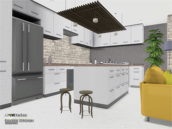 Risator Kitchen by ArtVitalex at TSR image 6119 Sims 4 Updates