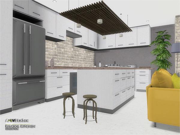Risator Kitchen by ArtVitalex at TSR image 6119 Sims 4 Updates