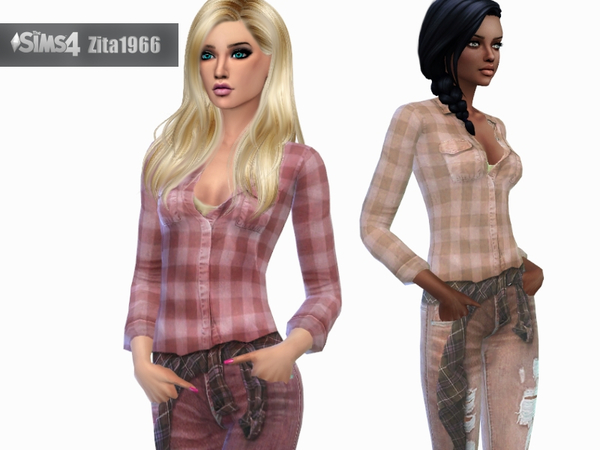 Country Girls by ZitaRossouw at TSR image 6125 Sims 4 Updates