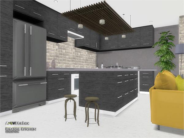Risator Kitchen by ArtVitalex at TSR image 6214 Sims 4 Updates