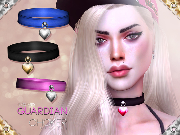 Guardian Choker by Pralinesims at TSR image 6216 Sims 4 Updates