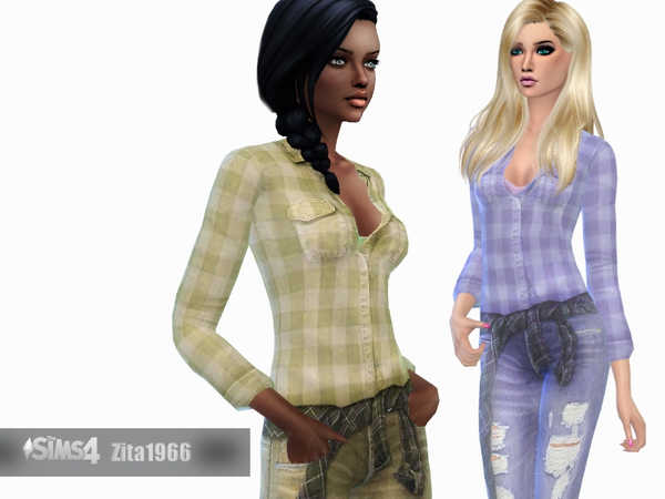 Country Girls by ZitaRossouw at TSR image 6220 Sims 4 Updates