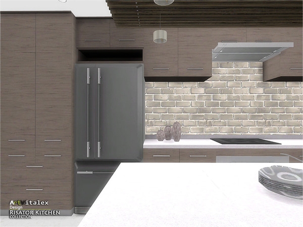 Risator Kitchen by ArtVitalex at TSR image 6311 Sims 4 Updates