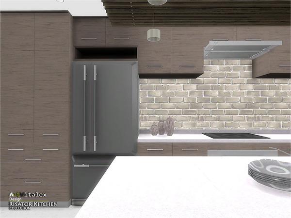 Risator Kitchen by ArtVitalex at TSR image 6311 Sims 4 Updates