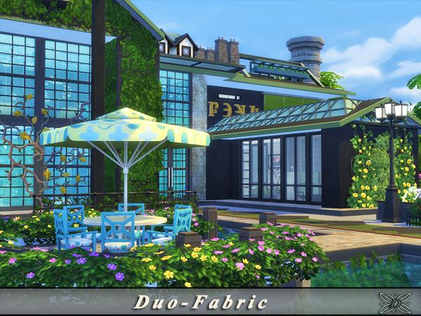 Duo Fabric house by Danuta720 at TSR image 6313 Sims 4 Updates