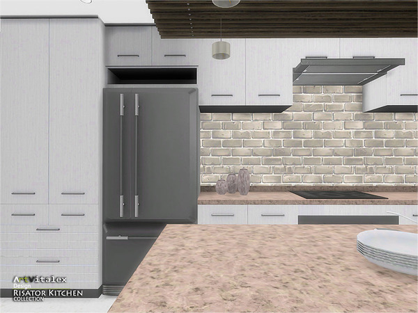 Risator Kitchen by ArtVitalex at TSR image 6410 Sims 4 Updates