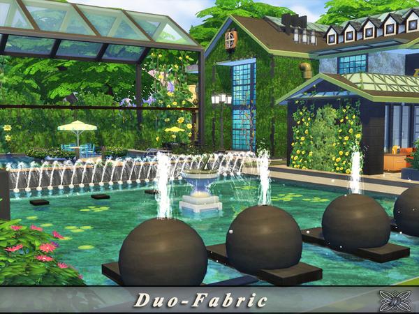 Duo Fabric house by Danuta720 at TSR image 6412 Sims 4 Updates