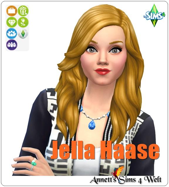 Sims 4 Jella Haase at Annett's Sims 4 Welt