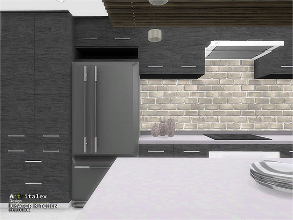 Risator Kitchen by ArtVitalex at TSR image 6510 Sims 4 Updates