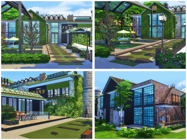 Duo Fabric house by Danuta720 at TSR image 6512 Sims 4 Updates