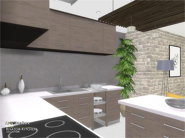 Risator Kitchen by ArtVitalex at TSR image 6610 Sims 4 Updates