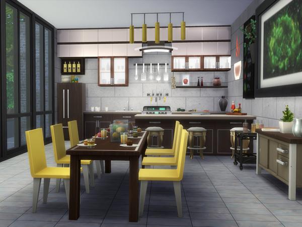 Duo Fabric house by Danuta720 at TSR image 6612 Sims 4 Updates
