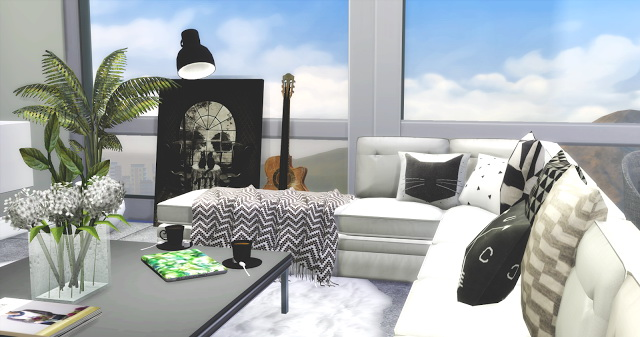 Nordic Style livingroom at Mony Sims image 662 Sims 4 Updates