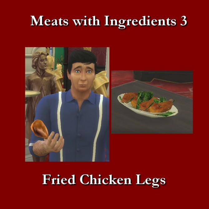 Custom Food Meats With Ingredients 3 by Leniad at Mod The Sims image 6710 670x670 Sims 4 Updates