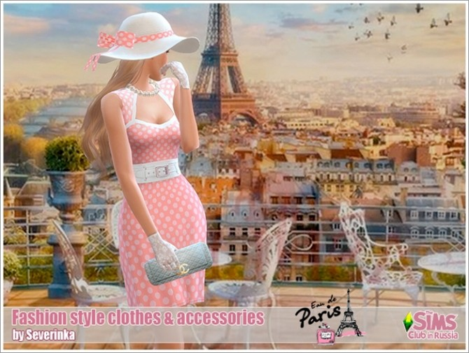 Fashion style clothes & accessories at Sims by Severinka image 676 670x505 Sims 4 Updates
