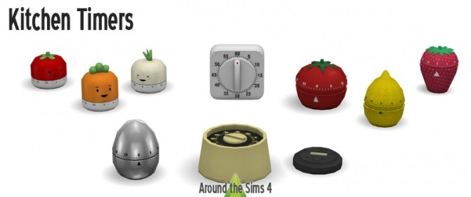 Kitchen Timers at Around the Sims 4 image 6914 670x281 Sims 4 Updates